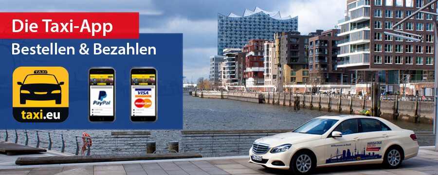 Bequem in jedem Hansa-Taxi per App bezahlen | InApp Payment mit Hansa-Taxi 211 211